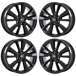 Image Is Loading 19 034 Fits Nissan Rogue Midnight Black Wheels