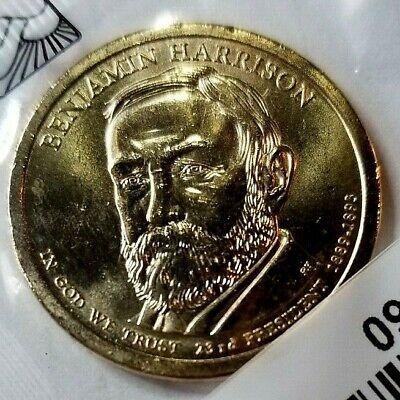 2012 P/&D Benjamin Harrison Presidential Dollar *Free Shipping*