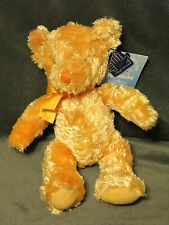 "RUSS TEDDY BEAR APPLAUSE ""FLORAL"" 9"" / GOLD RIBBON #49425 PLUSH ANIMAL NWT"