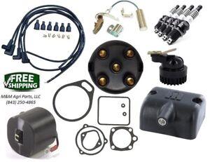 J4-Mag-Tune-Up-amp-Rebuild-kit-amp-Coil-IH-Farmall-Cub-Lo-Boy-Tractor-J4-Magneto