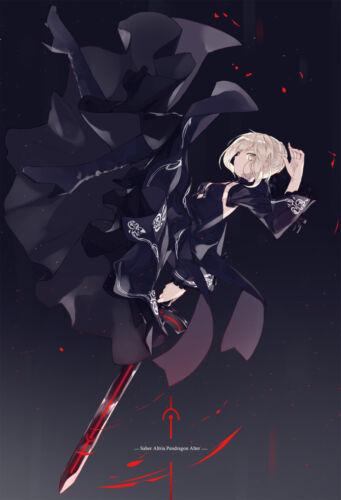 New Doujinshi Fate//Grand Order Art Book Saber Arturia Artwork  white parabellum