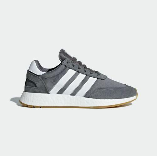 RUNNING SNEAKERS Adidas MENS ORIGINALS GREY D97345 I-5923 INIKI SHOES
