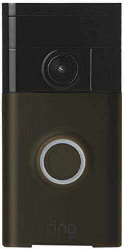 Ring Wi-Fi Enabled Video Doorbell Venetian Bronze