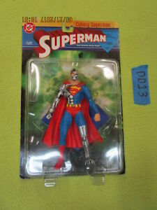 Dc Direct Lot Cyborg Superman Mosc # 2 Série 1 Figurine Articulée Le Retour De Mort De 761941237527