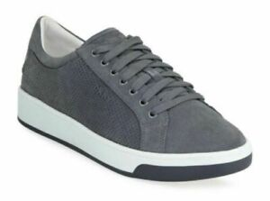 Suede Sneakers Shoes Size UK