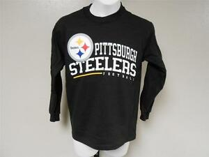 625ec85f2 NEW Pittsburgh Steelers Youth Sizes S-M (8-10 12) Long Sleeve Reebok ...