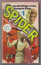 The Spider#1 Death Reign of the Vampire King Grant Stockbridge Pocket 77952 1975