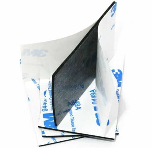 Blanco y Negro ~ 3M doble cara almohadillas de espuma de EVA ~ 60mm X 40mm X 2mm ~ Cinta Adhesiva