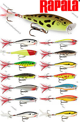 Rapala Skitter Pop Fishing Lure SP05// SP07//  SP09 Different colors//weight