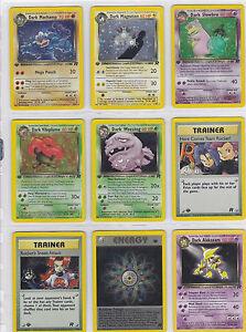 Pokemon-Neo-Discovery-Set-HOLOS-SHINYS-RARES-CHOOSE-Cards-47-75-75-Out-Of-Print