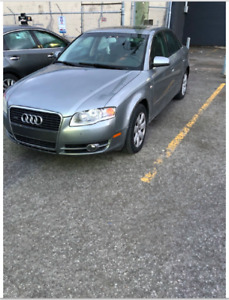 Audi A4 2.0T Grey 2007 GREAT CONDITION