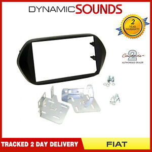 CT23FT32-Double-Din-Fascia-Panel-Adaptor-Black-for-Fiat-Tipo-2015-Onwards