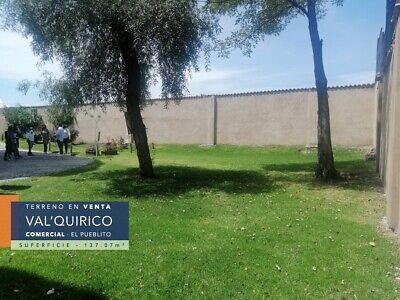 TERRENO  EN VALQUIRICO, TLAXCALA. DENTRO DE LA ZONA COMERCIAL DEL PUEBLITO