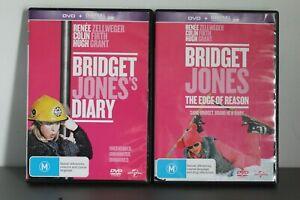 DVD-LOT-BRIDGET-JONES-039-S-DIARY-EDGE-OF-REASON-VGC