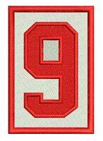 Detroit Red Wings Gordie Howe Patch Memorial 9 Nhl Away Jersey Version 2 X 3
