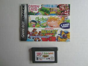 Candy-Land-Chutes-and-Ladders-Memory-Nintendo-Game-Boy-Advance-2005