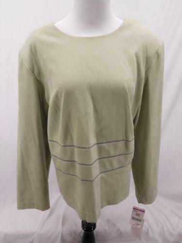Green 2 Collezione Sears pezzi 24 Nwt Ladies da donna Polyester taglia con bottoni xZUHzfqwU