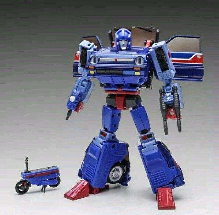 NUOVO in scatola sigillata Xtransbots Savant, Transformers Masterpiece pattini