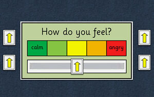 My Emotion / My Anger / My Feelings Scale Chart - Autism ...