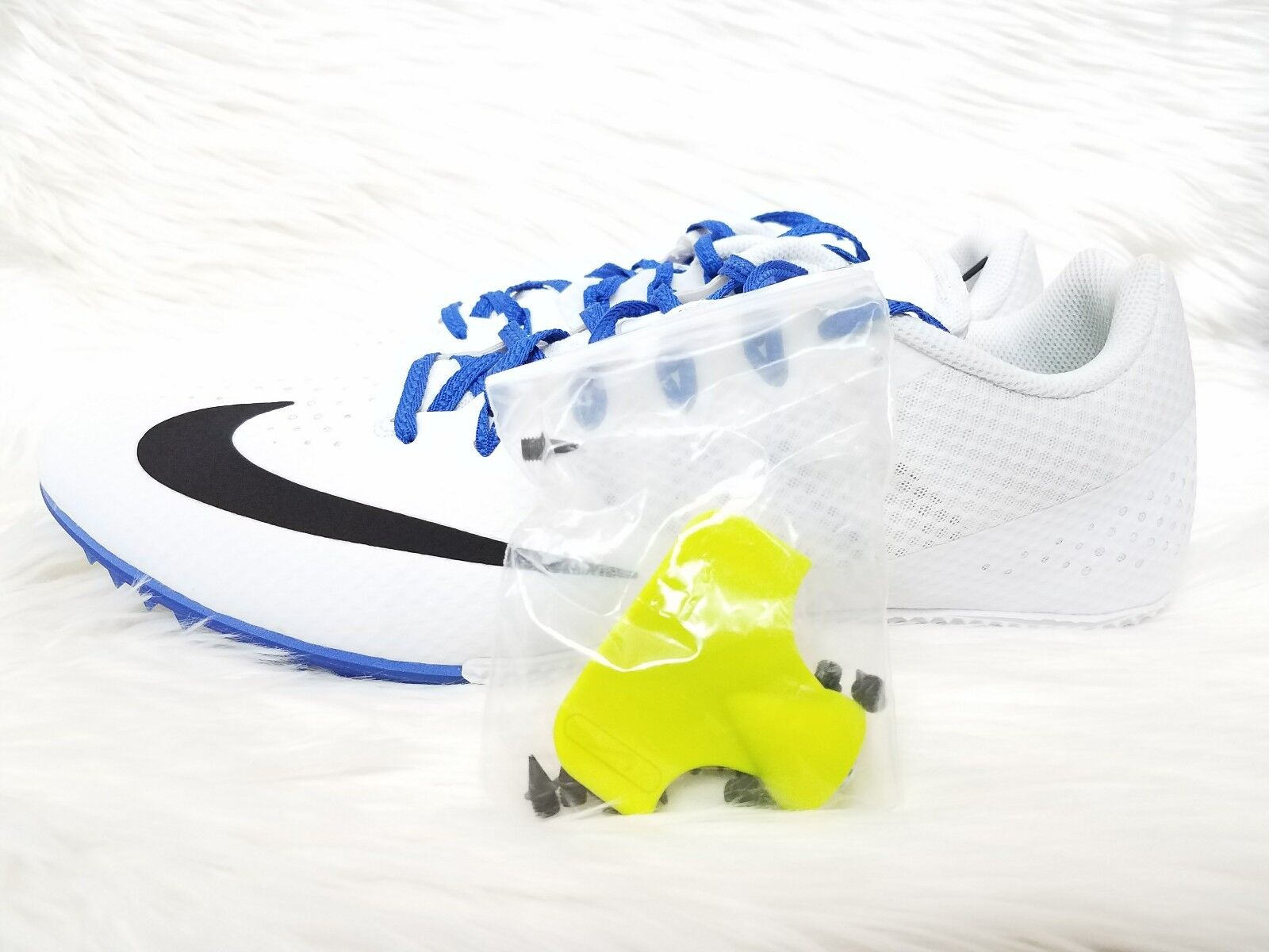 NIKE MEN'S ZOOM RIVAL S8 TRACK & FIELD RACING SHOES SIZE 14 NEW 806554-100