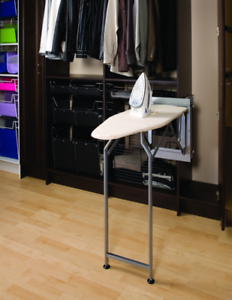 Details About Finista Wardrobe Mounted Folding Ironing Board Home Storage Saving Solution