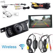 2.4g Wireless Car Auto Rear View Reverse Backup Camera Night Vision Vehicle Park