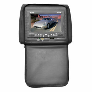 Pyle-PLD72BK-Headrest-w-Built-In-7-039-039-TFT-LCD-Monitor-w-Built-in-DVD-Player
