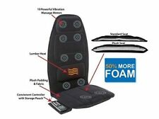 Massage Therapy Chair Seat Topper With Heat Executive Portable Car Lower Back