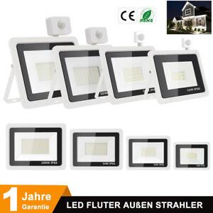 10-30-50-100W-Projecteur-LED-Spot-Exterieur-detecteur-Eclairage-Etanche-Jardin