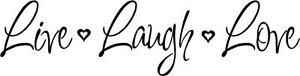 Live-Laugh-Love-Wall-Stickers-Words-Lettering-Decal-Rub