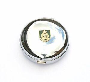 Womens Royal Army Core WRAC Travel Chrome Alarm Clock Ideal Army Gift BK52