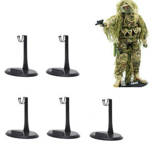 5x Action Figure Base Display Stand U Type Hook Nameplate For 1//6 Scale Hot Toys