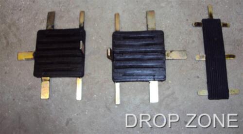 New BRITPART Land Rover Series II//IIA//III Pedal Pad Set x3 P//N:278166 /& 509463