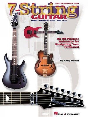 Intellective 7-string Guitar Instruction Books, Cds & Video An All-purpose Reference For Navigating Your Fretboa 000695508