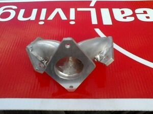 Details about virago manifold single carb 2into1 intake carb xv 400,535,  500, v star 650