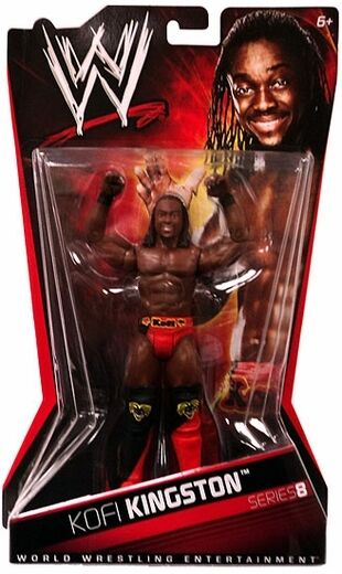 Mattel WWE Basic Series 8 Kofi Kingston Wrestling Action Figure