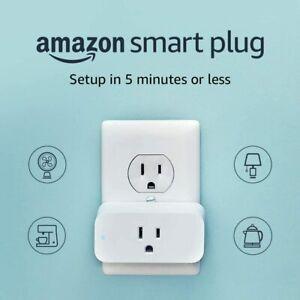 New-Amazon-Smart-Plug-White