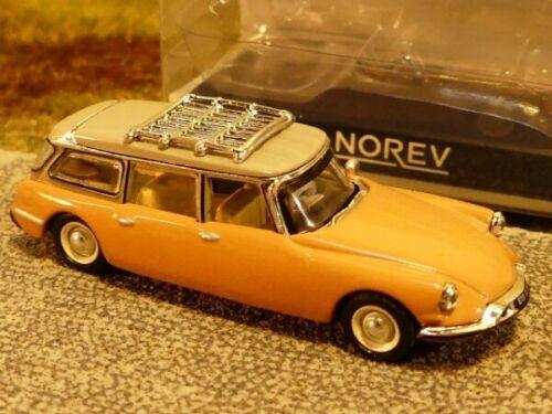 1//87 norev citroen ID break 1960 marrón claro 155054