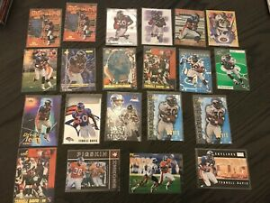 21 Card Terrell Davis Lot 2000 Supreme Team Dominion Characteristics + More L1.1