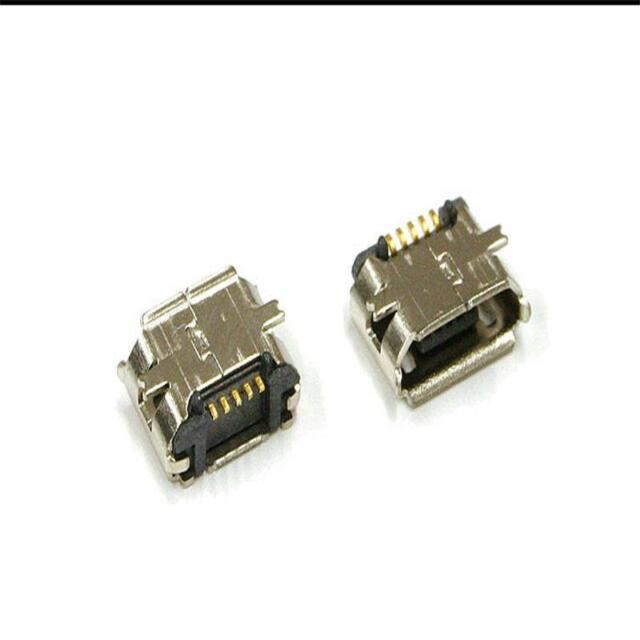 Showing Up New 10 Pcs Micro USB B Female 5 Pin SMT Socket Connector JCAU