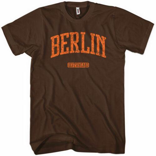 Germany Tee German Deutschland Men and Kids BERLIN T-shirt NEW XS-4XL