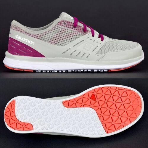 Salomon COVE W Damen Outdoor Sneaker Boot Schuh Wasserschuh Shoe beige-grau/lila