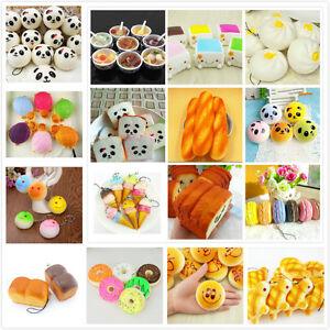 16Styles-Soft-Cute-Squishy-Bread-Kawaii-Keychain-Bag-Phone-Charm-Strap-PendantLJ