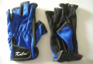 Fish-Fishing-Glove-Lure-Tackle-Sports-Non-Slip-Design-hlaf-finger
