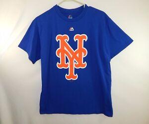 6f686cca New York Mets MLB Baseball Logo T Shirt Majestic Size MENS MEDIUM M ...
