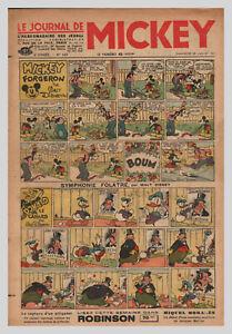 2019 Nouveau Style Journal De Mickey N° 145 Du 25/07/1937 Pim Pam Poum