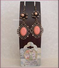 VINTAGE EARRINGS SET OF 3 BY KELLY RAE ROBERTS FASHION JEWELRY FREE U.S. SHIP