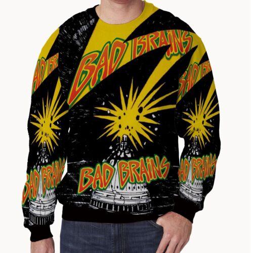 Sweatshirt Bad Brains Band New Men/'s Sweatshirt Fullprinted Size S to 3XL