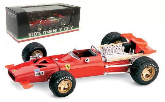 Brumm R295 Ferrari 312 F1 Prova Modena Test Car 1969-Chris Amon 1 43 Escala