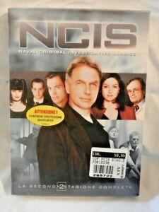 NCIS SECONDA STAGIONE Cofanetto 6 Dischi 23 Episodi NUOVO DVD Serie TV